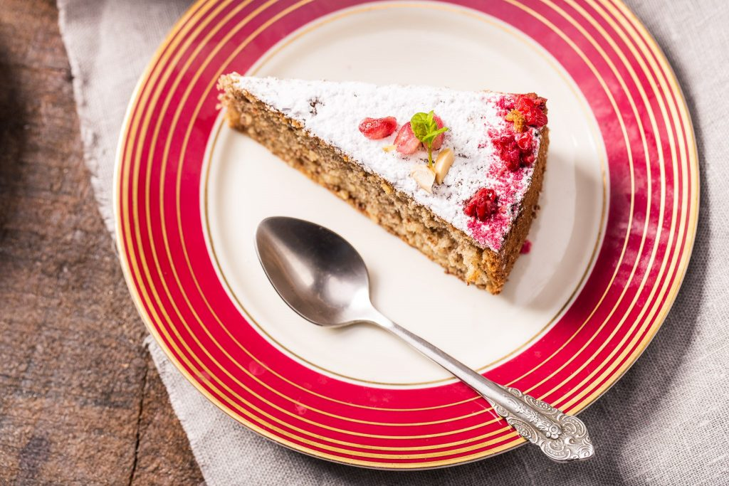 Ciasto migdałowe z Majorki