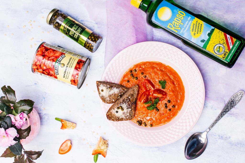 Zupa krem paprykowo-pomidorowa